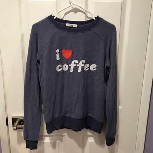 "Women's ""I ❤️ Coffee"" Sweater"